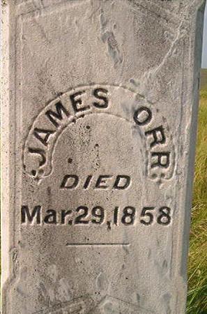 ORR, JAMES - Louisa County, Iowa | JAMES ORR
