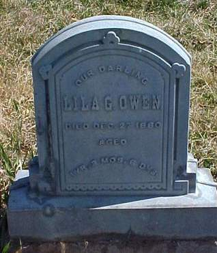 OWEN, LILA G. - Louisa County, Iowa | LILA G. OWEN