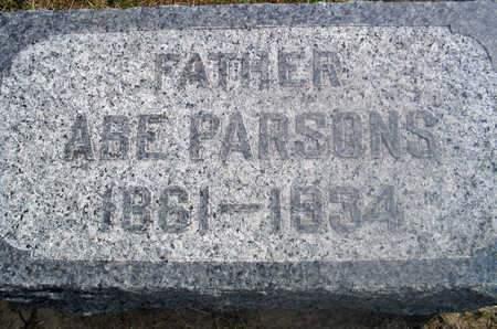 PARSONS, ABE - Louisa County, Iowa | ABE PARSONS