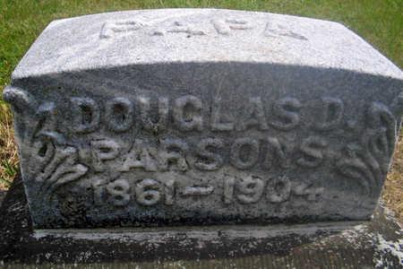 PARSONS, DOUGLAS D. - Louisa County, Iowa   DOUGLAS D. PARSONS