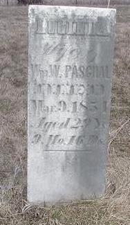 PASGHAL, LUCINDA - Louisa County, Iowa | LUCINDA PASGHAL