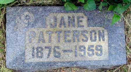 CREIGER PATTERSON, NANCY JANE - Louisa County, Iowa | NANCY JANE CREIGER PATTERSON
