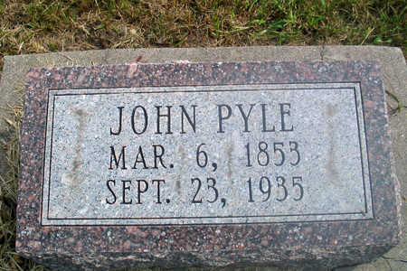 PYLE, JOHN - Louisa County, Iowa | JOHN PYLE