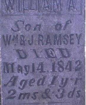 RAMSEY, WILLIAM A. - Louisa County, Iowa | WILLIAM A. RAMSEY
