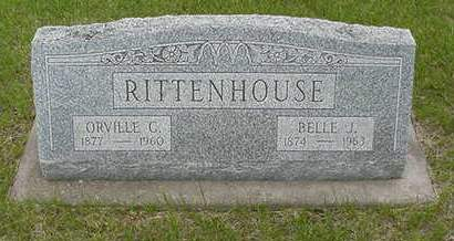 HACKETT RITTENHOUSE, BELLE J. - Louisa County, Iowa | BELLE J. HACKETT RITTENHOUSE