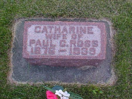 ROSS, CATHERINE - Louisa County, Iowa   CATHERINE ROSS