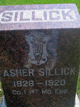 SILLICK, ASHER - Louisa County, Iowa | ASHER SILLICK
