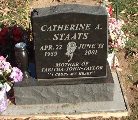 STAATS, CATHERINE A. - Louisa County, Iowa   CATHERINE A. STAATS