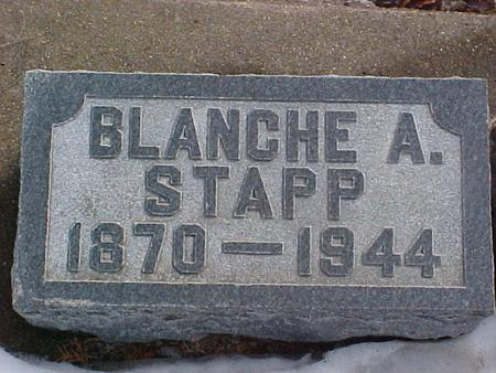 STAPP, BLANCHE A. - Louisa County, Iowa | BLANCHE A. STAPP
