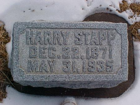 STAPP, HARRY - Louisa County, Iowa | HARRY STAPP