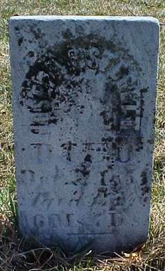 STERETT, JOSEPH - Louisa County, Iowa | JOSEPH STERETT
