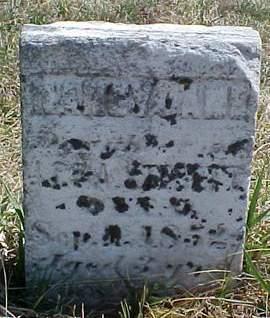 STERETT, NANCY JANE - Louisa County, Iowa | NANCY JANE STERETT