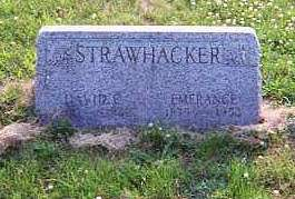 STRAWHACKER, DAVID E. - Louisa County, Iowa | DAVID E. STRAWHACKER