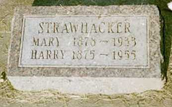 STRAWHACKER, HARRY - Louisa County, Iowa | HARRY STRAWHACKER