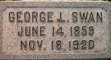 SWAN, GEORGE L. - Louisa County, Iowa | GEORGE L. SWAN