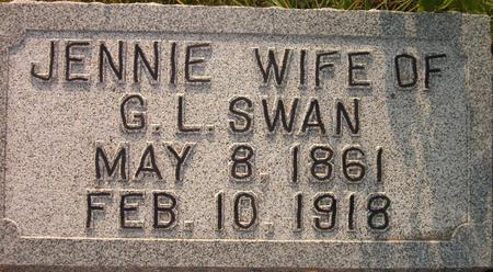 SWAN, JENNIE - Louisa County, Iowa | JENNIE SWAN