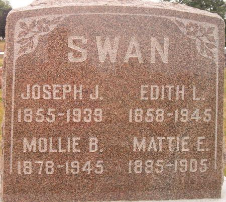 SWAN, MATTIE E. - Louisa County, Iowa | MATTIE E. SWAN