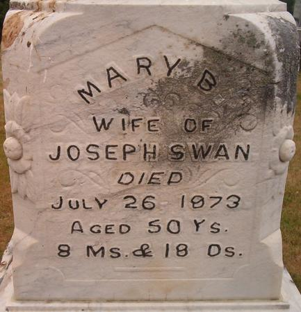 SWAN, MARY B. - Louisa County, Iowa | MARY B. SWAN