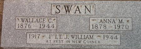 SWAN, J. WILLIAM - Louisa County, Iowa | J. WILLIAM SWAN