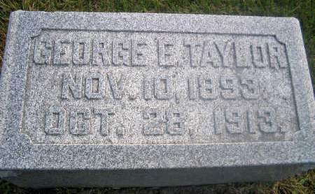 TAYLOR, GEORGE E. - Louisa County, Iowa | GEORGE E. TAYLOR