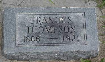 THOMPSON, FRANCES - Louisa County, Iowa | FRANCES THOMPSON