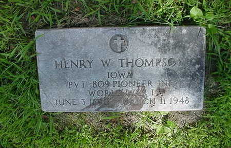 THOMPSON, HENRY  W. - Louisa County, Iowa | HENRY  W. THOMPSON