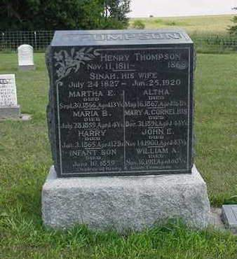 THOMPSON, ALTHA - Louisa County, Iowa | ALTHA THOMPSON