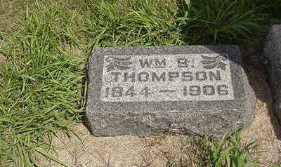 THOMPSON, WILLIAM  B. - Louisa County, Iowa | WILLIAM  B. THOMPSON