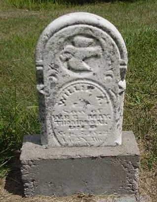 THOMPSON, WILLIE A. - Louisa County, Iowa | WILLIE A. THOMPSON