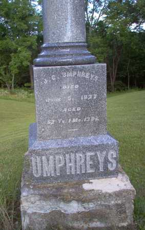 UMPHREYS, J. G. - Louisa County, Iowa | J. G. UMPHREYS