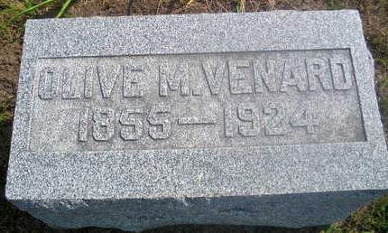 VENARD, OLIVE M. - Louisa County, Iowa | OLIVE M. VENARD