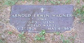 WAGNER, ARNOLD ERWIN - Louisa County, Iowa | ARNOLD ERWIN WAGNER