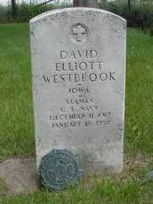 WESTBROOK, DAVID ELLIOTT - Louisa County, Iowa | DAVID ELLIOTT WESTBROOK