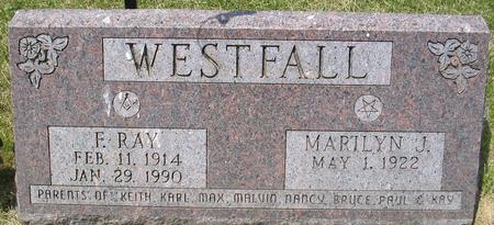 WESTFALL, FORREST RAY - Louisa County, Iowa | FORREST RAY WESTFALL