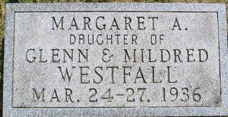WESTFALL, MARGARET - Louisa County, Iowa | MARGARET WESTFALL
