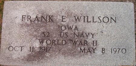 WILLSON, FRANK E. (MILITARY) - Louisa County, Iowa | FRANK E. (MILITARY) WILLSON