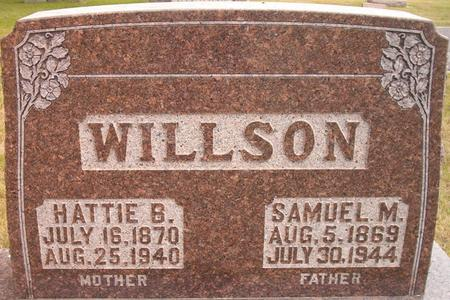 WILLSON, SAMUEL - Louisa County, Iowa | SAMUEL WILLSON