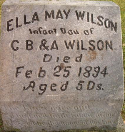 WILSON, ELLA MAY - Louisa County, Iowa | ELLA MAY WILSON