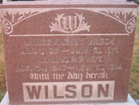 WILSON, ADALINE - Louisa County, Iowa | ADALINE WILSON