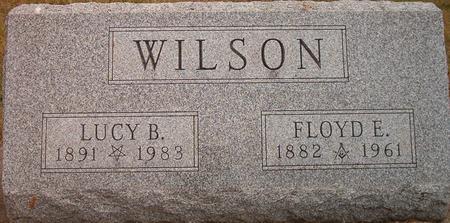WILSON, LUCY B. - Louisa County, Iowa | LUCY B. WILSON