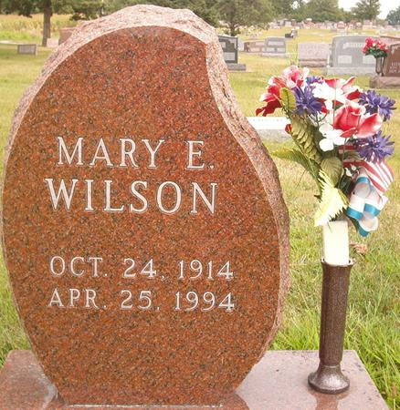 WILSON, MARY E. - Louisa County, Iowa | MARY E. WILSON