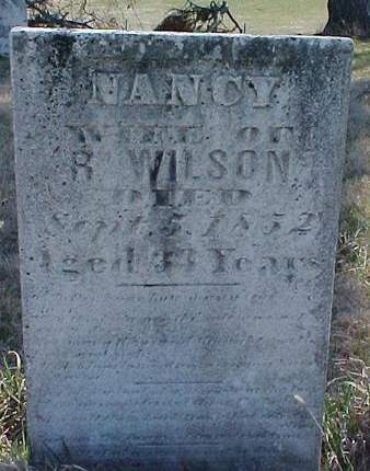 WILSON, NANCY - Louisa County, Iowa | NANCY WILSON