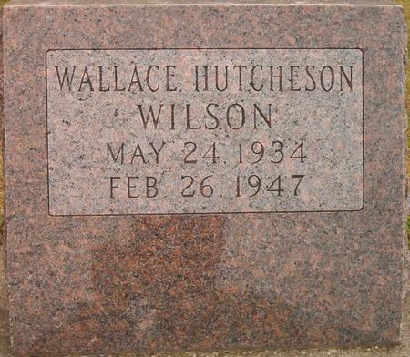 WILSON, WALLACE HUTCHESON - Louisa County, Iowa | WALLACE HUTCHESON WILSON