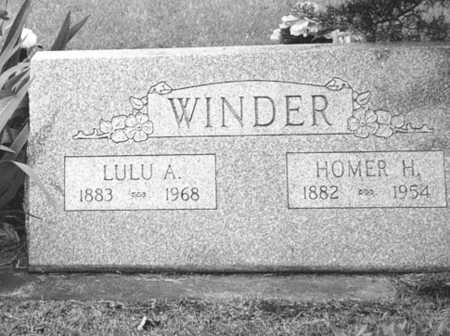 WINDER, HOMER - Louisa County, Iowa | HOMER WINDER