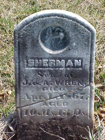 WREN, SHERMAN - Louisa County, Iowa | SHERMAN WREN
