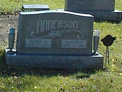 ANDERSON, ROENA - Lucas County, Iowa | ROENA ANDERSON