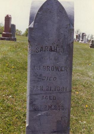 BROWER, SARAH J - Lucas County, Iowa | SARAH J BROWER
