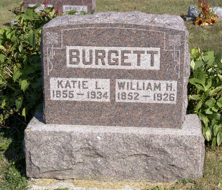 BURGETT, WILLIAM  H. - Lucas County, Iowa | WILLIAM  H. BURGETT