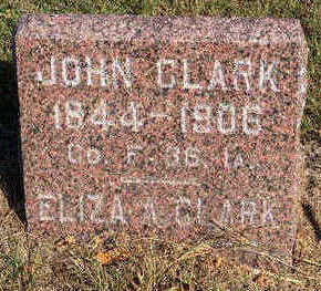 RICKETTS CLARK, ELIZA ANN - Lucas County, Iowa | ELIZA ANN RICKETTS CLARK