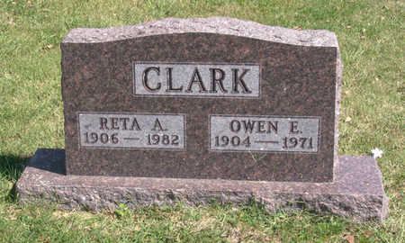 CLARK, RETA ALMETTA - Lucas County, Iowa | RETA ALMETTA CLARK